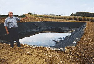 -agriculture pond  waterproofing